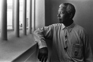 Nelson Mandela pasó 27 años de su vida en la cárcel.
